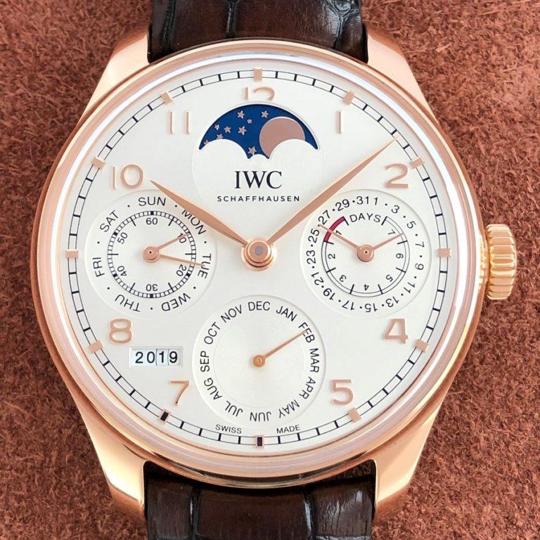 IWCポルトギーゼ パーペチュアルカレンダーIW503302