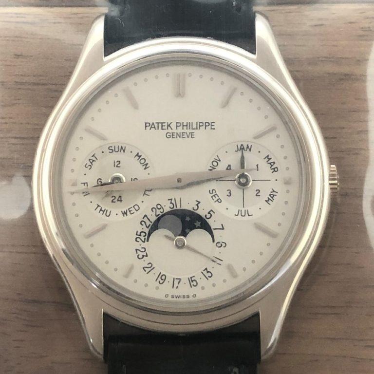 パテックフィリップ(PATEK PHILIPPE)パーペチュアルカレンダー 3940G-013 WG 未開封